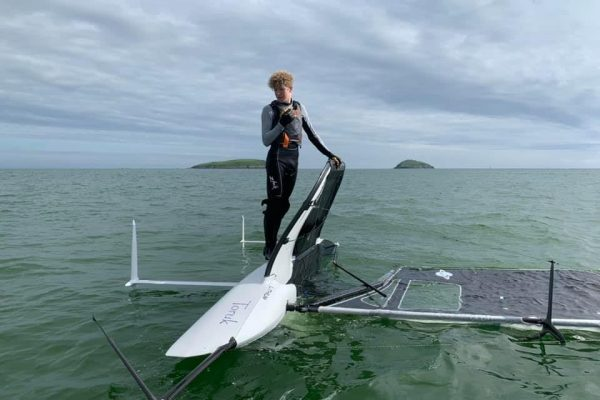 Youngest Lithium pilot - Abersoch, Wales